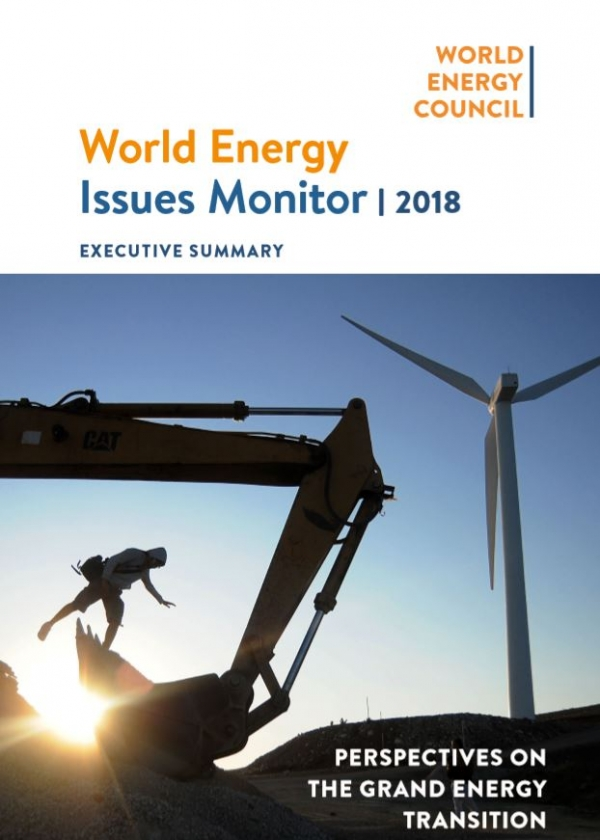 2018 World Energy Issues Monitor 표지