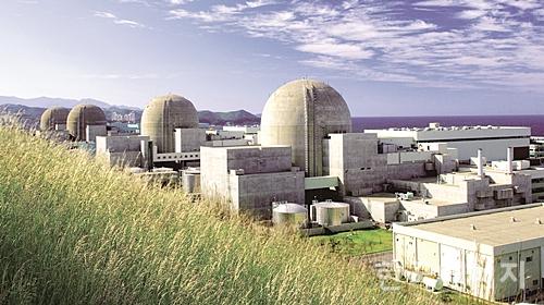 한울원자력발전소 전경